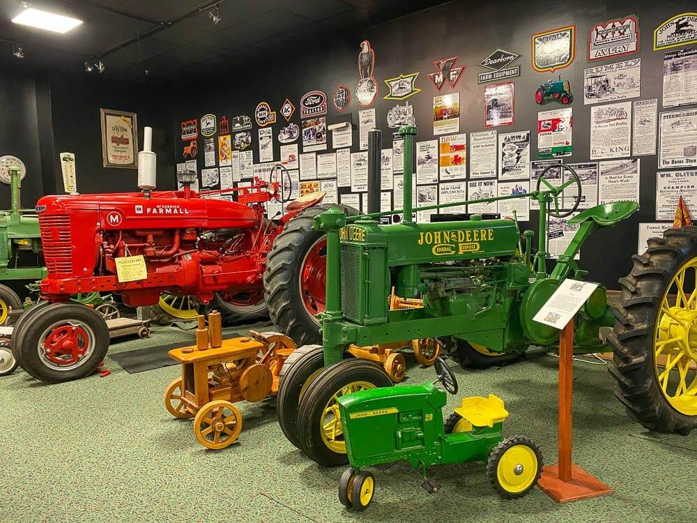 Antique Tractor Display