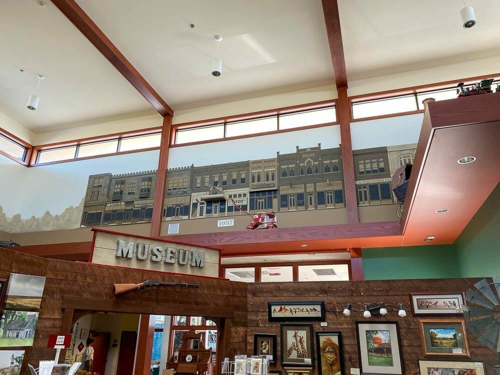 Downtown Red Oak Timeline Mural